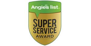 Angies list Super Service Award - Chambliss Plumbing San Antonio